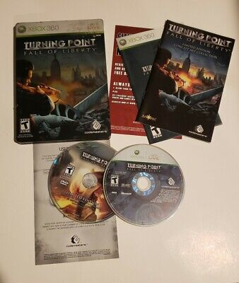 Turning Point: Fall of Liberty Collector's Edition Microsoft Xbox 360 Steelbook