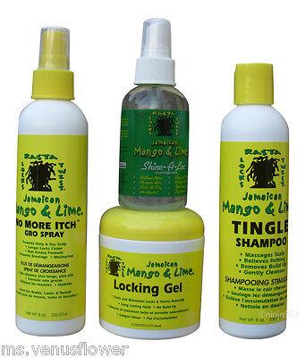 Jamaican Mango & Lime Hair Care Products (Dread Head,Rasta,Locs,Twists)