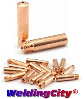 Weldingcity 25 Mig Welding Gun Heavy Duty Contact Tips 11h-45 For Lincoln Tweco