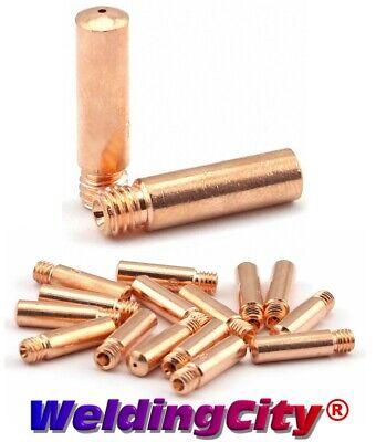 Weldingcity 10-pk Mig Welding Gun Contact Tip 11-23 For Tweco Mini Lincoln 100l
