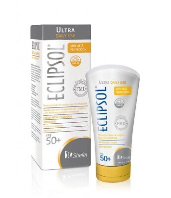 Body Daily Use Face - Eclipsol SPF 50 Ultra Daily Use Broad Spectrum Face & Body Water Resistant 60 Gr