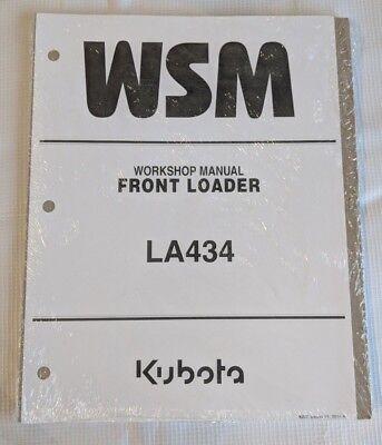 2014 Kubota La434 Front Loader Workshop Service Manual