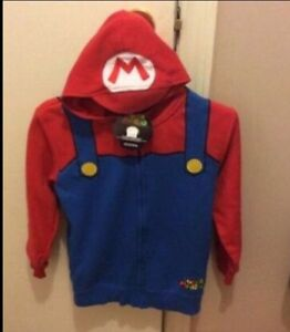 Super Mario hoodie - new with tags