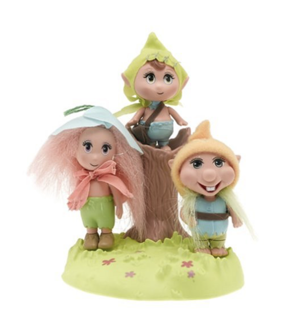 barbie fairytopia trolls elves peeble patter