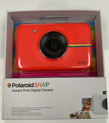 Polaroid Snap Instant Camera Red - Includes New Protective case