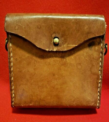 WW1 CANADIAN / BRITISH ARMY LARGE LEATHER OLIVER UTILITY / AMMO POUCH...MAYBE?