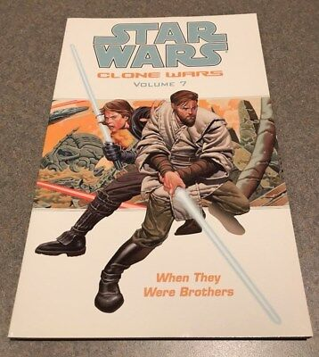 STAR WARS Clone Wars vol. 7: When They Were Brothers (Dark Horse TPB) NEW! OOP!