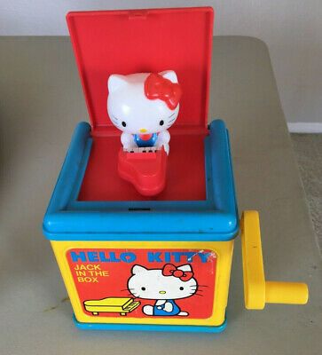 Vintage Hello Kitty Jack in the Box 1983, Used, works fine