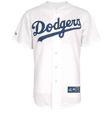 Los Angeles Dodgers Men's Replica Home Baseball Jersey - White -