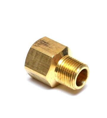 Reducer 12 Female To 38 Male Npt Pipe Adapter Brass Water Oil Gas Air