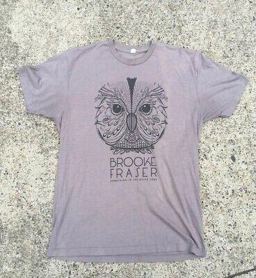Brooke Fraser: Something In The Water Tour Shirt Size Medium