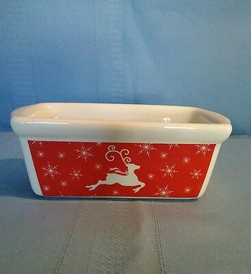 Ltd Commodities Christmas Reindeer Mini Loaf Pan