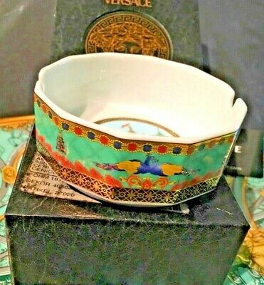 VERSACE MARCO POLO ASHTRAY Le Voyage ROSENTHAL RARE  Retired in Box Sale 13cm