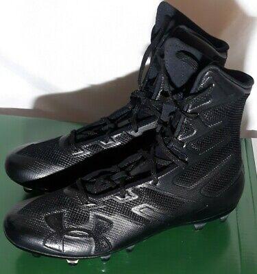 Under Armour Mens Highlight MC Football Cleats Black 3000177-001 New
