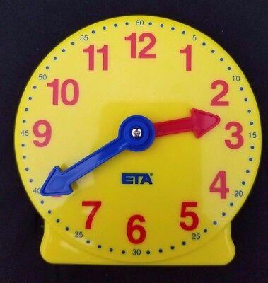 - ETA Economy Student Clock 12 hour geared hands Homeschool Time Math Education