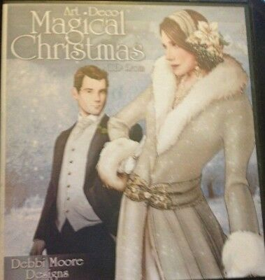 Debbi Moore Art Deco Magical Christmas Double CD Rom