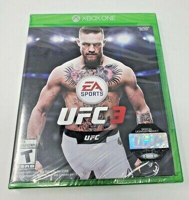 UFC 3 (Microsoft Xbox One, 2018) Brand New Sealed Fast Shipping