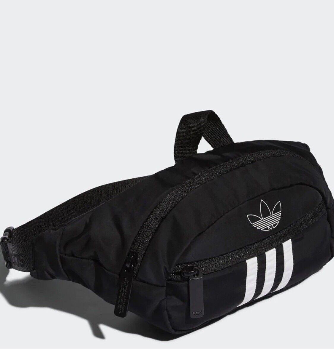 New Adidas three stripes Unisex Fanny Pack Waist Bag Belt Ba