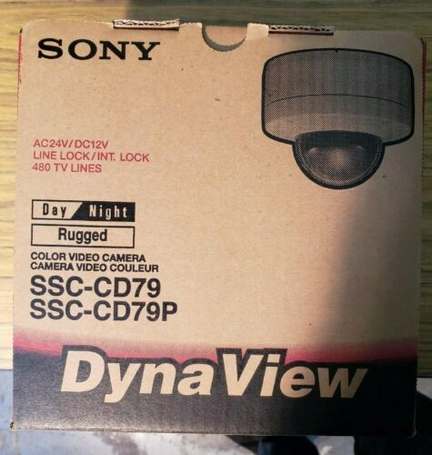 Sony SSC-CD79 Color Video Camera Day/Night Rugged