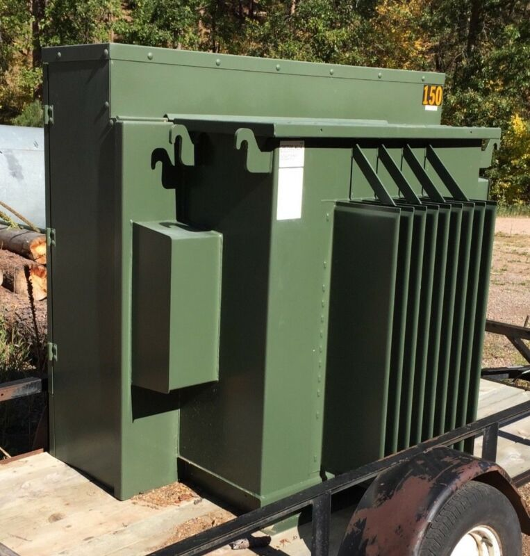 Transformer, Cooper Power, 3-Phase, 60 HZ, 150 kVA, excellent condition