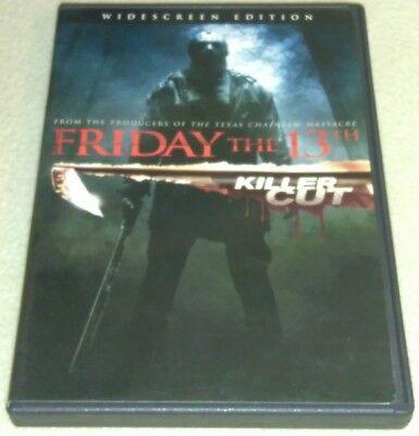 Friday the 13th (DVD, 2009, Extented Killer Cut *HORROR *HALLOWEEN