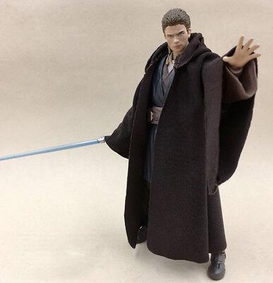 MY-R-ANA: Jedi Fabric Cloak Robe for 6