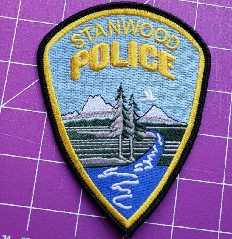 Stanwood Washington Police shopulder patch new