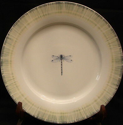Lakeside (Narrow Rim) by Portmeirion / Dragonfly DINNER PLATE 10 5/8