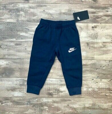 *New* Nike Toddler Cotton Jogger/Sweatpants With Pockets Navy Blue -