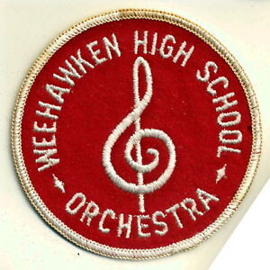 Weehawken-High-School-Orchestra-Patch-New-Jersey