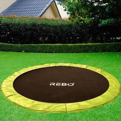Rebo Base Jump In-Ground Base Jump Trampoline - 4 Sizes