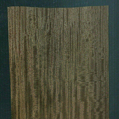 Wenge Raw Wood Veneer Sheets 9 X 32 Inches 142nd Thick   H7685-30