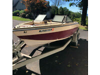 1985 Regal Medallion 175 OMC Outboard Trailer Milford, NJ | No Fees & No Reserve