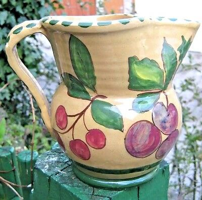 VINTAGE /  RETRO POTTERY ART JUG - SIGNED/DATED 1944