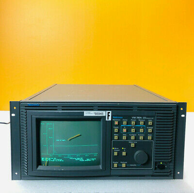 Tektronix Vm700a-01-40-48 3 Input Channels Ntsc Automatic Video Measurement Set