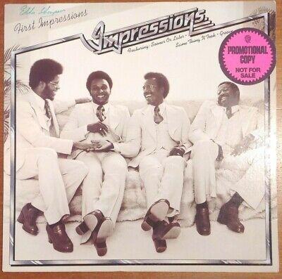 Impressions - First Impressions. RS-1-3054. EX/VG. US Promo! Vinyl Record LP.