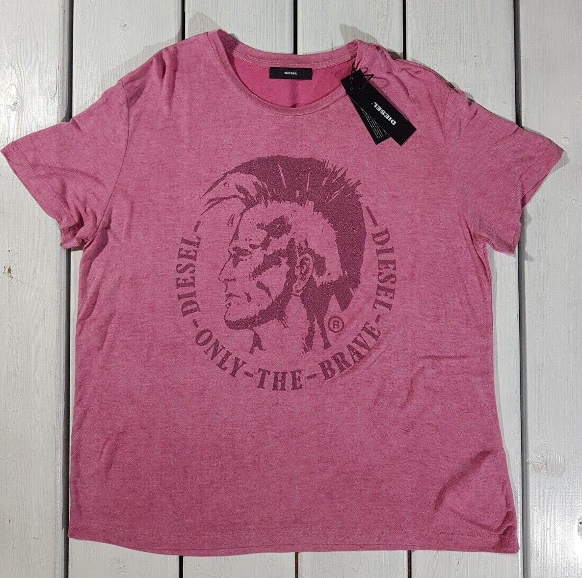 NEW RRP £37.50 Ex White Stuff Midnight Jersey T-Shirt In Charcoal//Pink