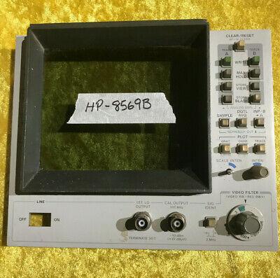 Hp - 8569b Spectrum Analyzer Crt Bezel Parts Ii