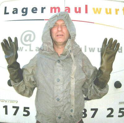 3 Abc Schutzanzug  Regenjacken Schutzhandschuhe NVA Schutzkleidung  Gummijacken