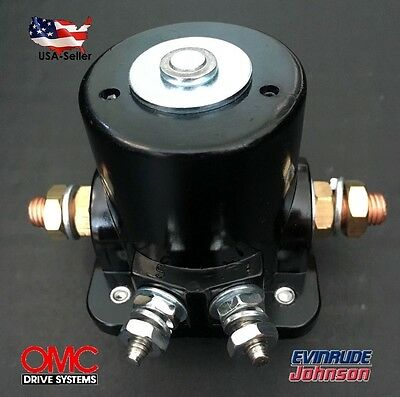 Omc Johnson Evinrude Outboard Motor - NEW STARTER SOLENOID SWITCH RELAY For Johnson OMC Evinrude Outboard Motor 12Volt