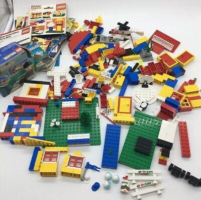 Vintage Lego Classic 1980s Legos & Instruction Booklets No Complete Sets Parts