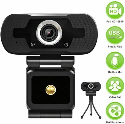 Real 1080P Full HD Webcam USB3.0 Web Camera Cam Microphone For PC Laptop Desktop