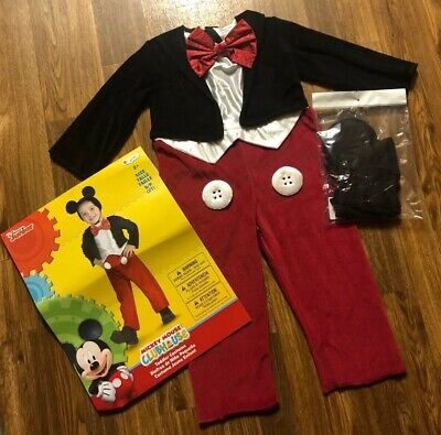 2t Mickey Mouse Costume (MICKEY MOUSE CLUBHOUSE Toddler (Mickey Mouse)Costume Disney Junior SZ:)