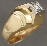 14k Two Tone Gold Ring