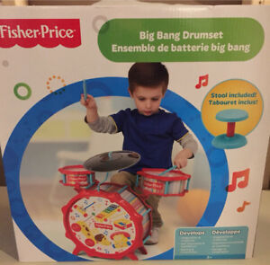 Brand new in box - Big Bang Toy drumset