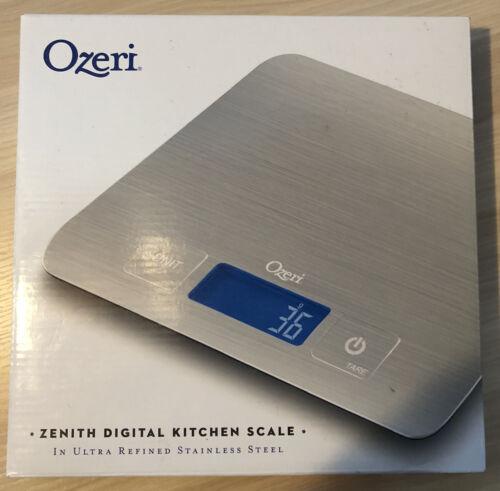 Ozeri Zenith Ultra Refined Stainless-Steel Digital Kitchen S