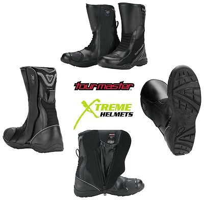 Tourmaster Solution WP Air Touring Motorcycle Boots Breathable Air Motorcycle Boots