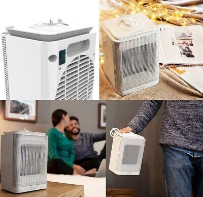 Calefactor Ceramico Electrico oscilante 1500 W, 3 modos (ECO,turbo y ventilador)