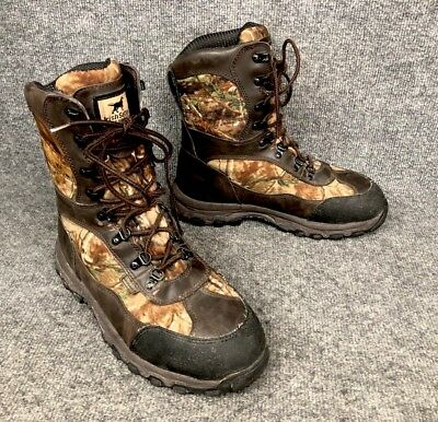9a0e8572f1e67 Irish Setter Red Wing Camo Trail Phantom 600 gram Hunting Boots Mens Size  10 EE