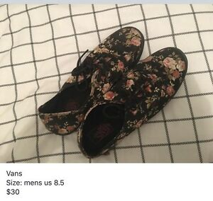 Vans Floral Shoes Grose Vale Hawkesbury Area Preview